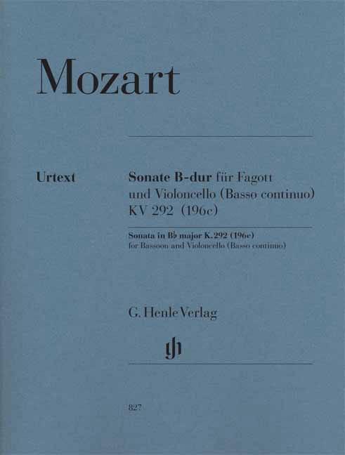 Sonate en Si bémol majeur - MOZART - Partition - laflutedepan.com
