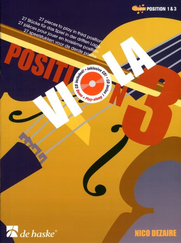 Nico Dezaire - Viola Position 3 - Partition - di-arezzo.co.uk