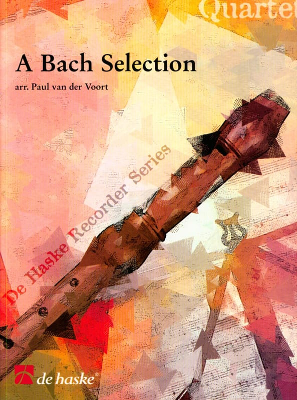 A Bach Selection - Recorder Quartet - BACH - laflutedepan.com