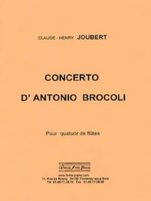Claude-Henry Joubert - Concerto d'Antonio Brocoli - Partition - di-arezzo.fr