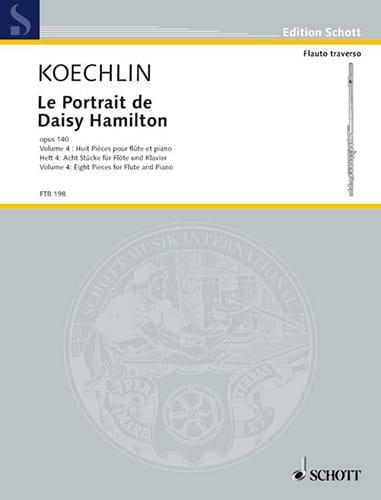 Charles Koechlin - El retrato de Daisy Hamilton Op.140 Vol.4 - Partition - di-arezzo.es