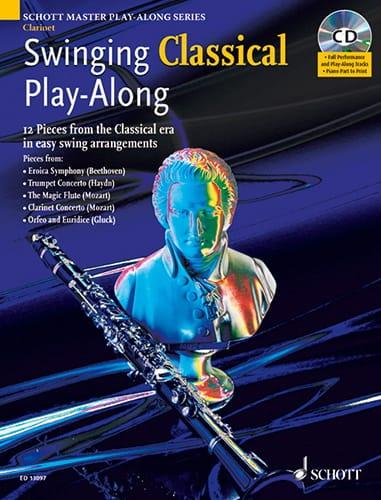 Clarinet Swinging Classical Play-Along - laflutedepan.com