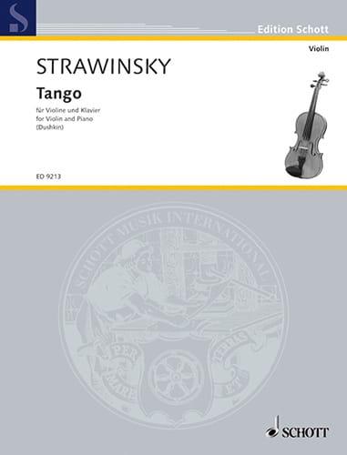 Igor Stravinsky - Tango Firebird - Partition - di-arezzo.com