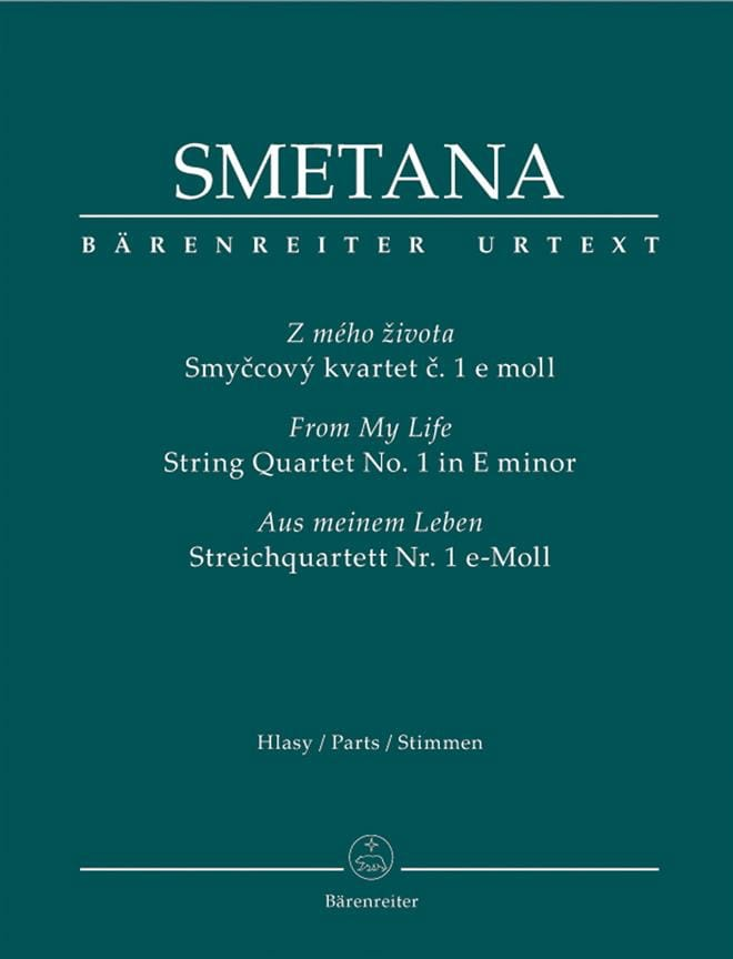 Bedrich Smetana - From My Life - Foursome N ° 1 In Mi Min. - Partition - di-arezzo.co.uk