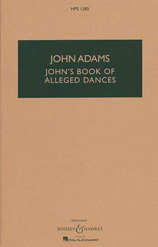 John's Book Of Alleged Dances - John Adams - laflutedepan.com