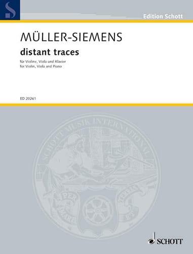Distant Traces - Müller-Siemens - Partition - Trios - laflutedepan.com