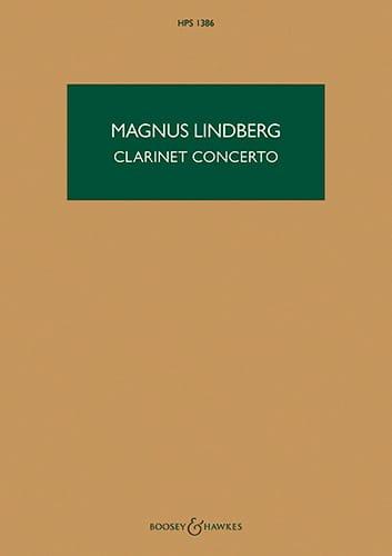 Clarinet Concerto - Magnus Lindberg - Partition - laflutedepan.com