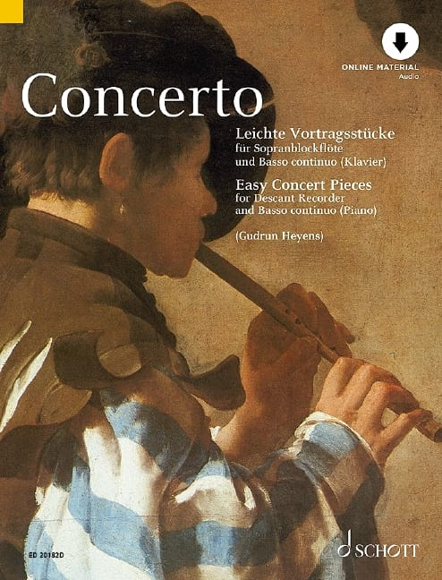 Concerto - Easy Concert Pieces - Partition - laflutedepan.com