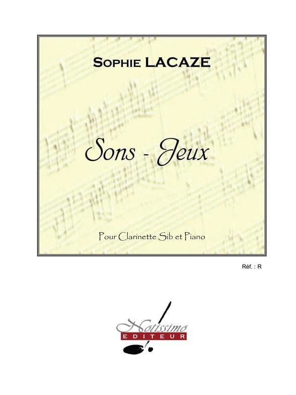 Sons-jeux - Sophie Lacaze - Partition - laflutedepan.com