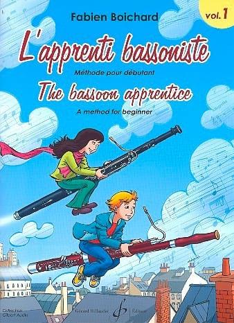 Fabien Boichard - The Bassoon Apprentice Volume 1 - Partition - di-arezzo.co.uk