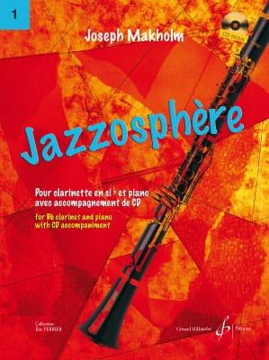 Joseph Makholm - Jazzosphere Volume 1 - Partition - di-arezzo.it