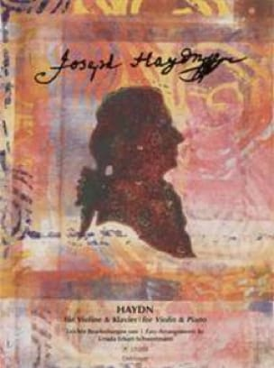 Haydn for Violon and piano easy arr. - HAYDN - laflutedepan.com
