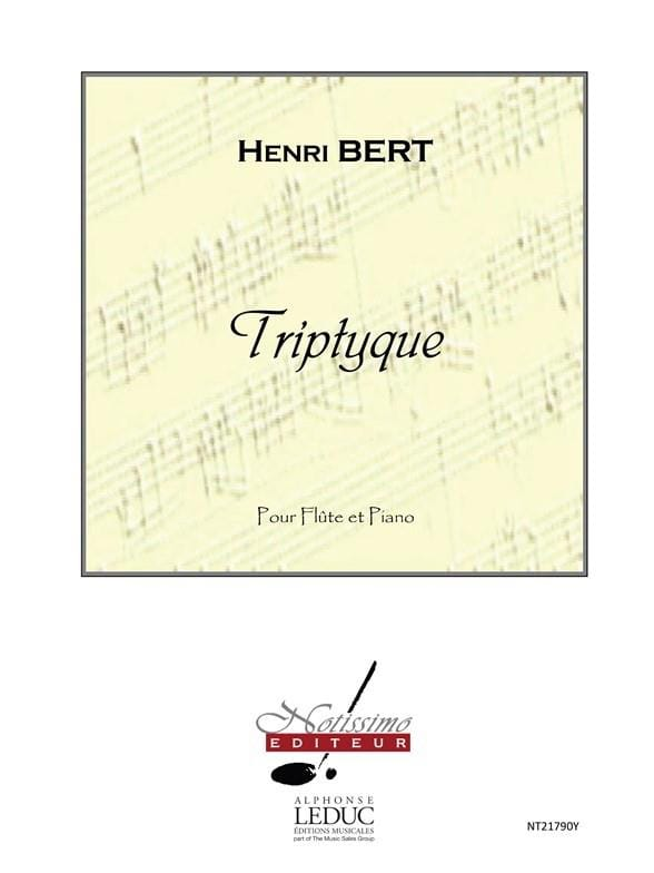 Henri Bert - Triptych - Partition - di-arezzo.co.uk
