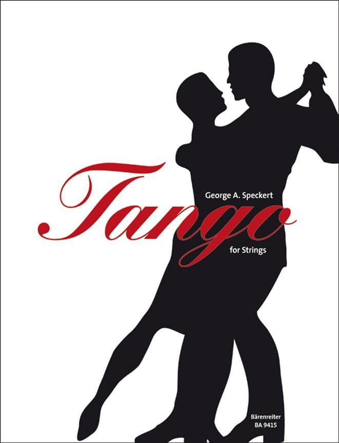 Tango For Strings - George A. Speckert - Partition - laflutedepan.com