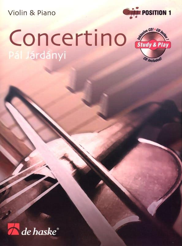 Concertino - Violon - Pal Jardanyi - Partition - laflutedepan.com