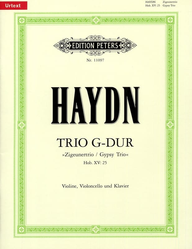 HAYDN - Trio in Giant Solo Hob.15: 25 - Partition - di-arezzo.co.uk