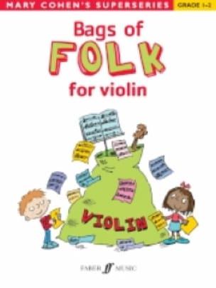Bags Of Folk For Violon - Mary Cohen - Partition - laflutedepan.com