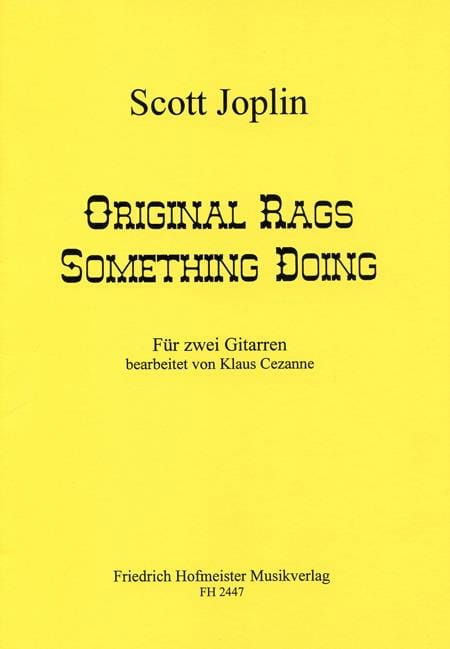 Original Rags - Something Doing - JOSPLIN - laflutedepan.com