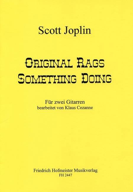 Original Rags - Something Doing - JOPLIN - laflutedepan.com