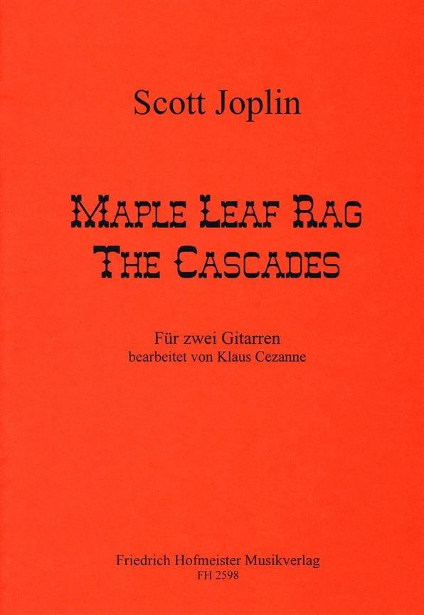 Mapple Leaf Rag et The Cascades - JOSPLIN - laflutedepan.com