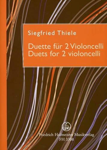 Duets For 2 Violoncelli - Siegfried Thiele - laflutedepan.com
