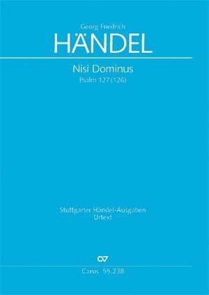 Nisi Dominus - Psaume 127 126 HWV.238 - HAENDEL - laflutedepan.com
