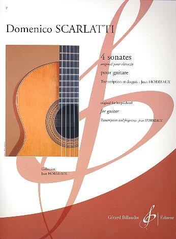 Domenico Scarlatti - 4 Sonates - Partition - di-arezzo.fr