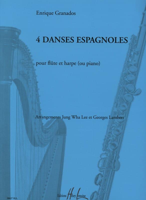 4 Danses Espagnoles - GRANADOS - Partition - Duos - laflutedepan.com