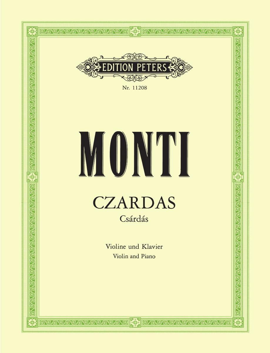 Vittorio Monti - Czardas - Partition - di-arezzo.co.uk