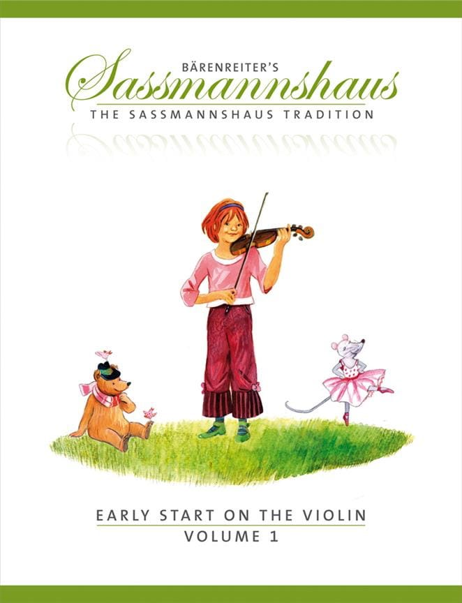 Egon Sassmannshaus - Early Start en el Violín Volumen 1 - Partition - di-arezzo.es