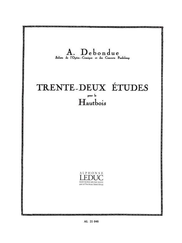 Albert Debondue - 32 Studies - Partition - di-arezzo.co.uk