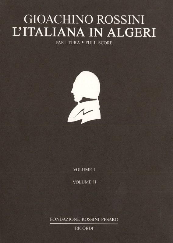 Gioacchino Rossini - The Italian woman in Algiers - Partition - di-arezzo.co.uk