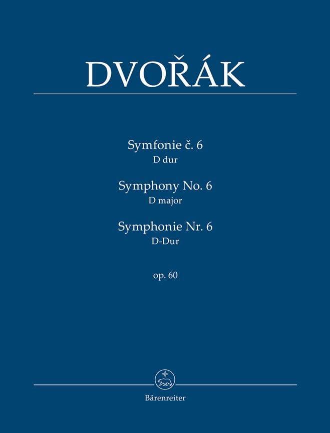 Symphonie Nr. 6 -Partitur - DVORAK - Partition - laflutedepan.com