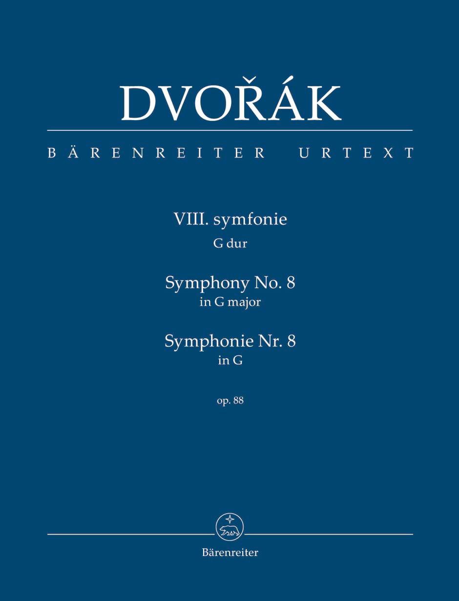 Symphonie Nr. 8 -Partitur - DVORAK - Partition - laflutedepan.com