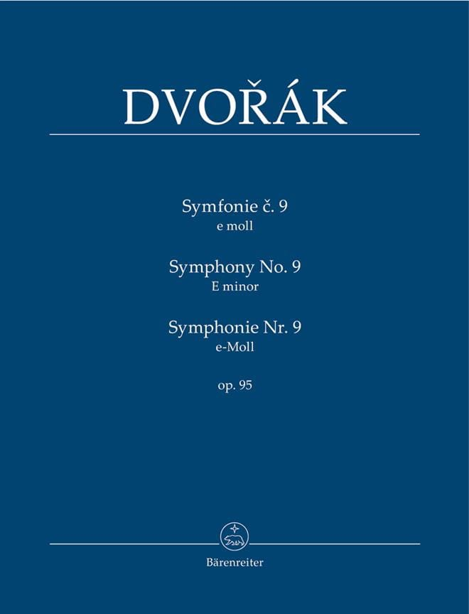 DVORAK - Symphony Nr. 9 - Partitur - Partition - di-arezzo.co.uk