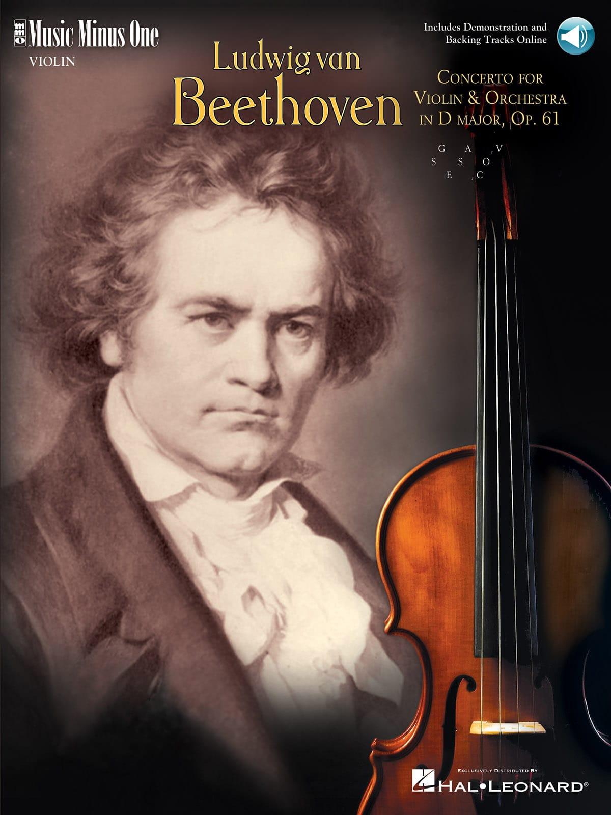 Concerto En Ré Majeur Op. 61 - BEETHOVEN - laflutedepan.com
