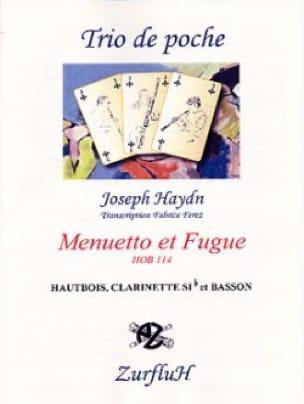 Menuetto et Fugue - Hob.114 - HAYDN - Partition - laflutedepan.com