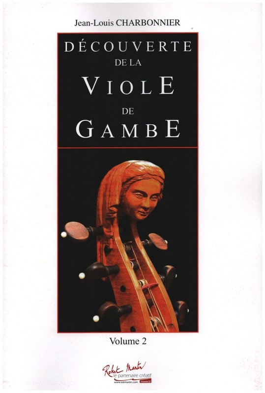 Jean-Louis Charbonnier - Discover the Viola of Gambe Volume 2 - Partition - di-arezzo.co.uk