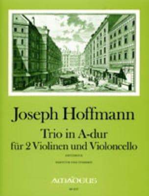 Trio En la Maj. - Joseph Hoffmann - Partition - laflutedepan.com