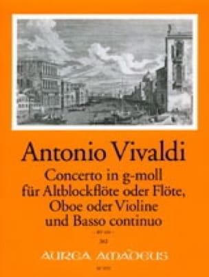 VIVALDI - Solo Concerto Rv 103 - Partition - di-arezzo.es