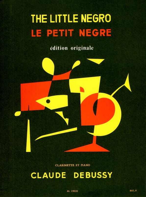 DEBUSSY - The Little Nègre - Partition - di-arezzo.com