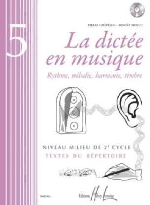 Pierre CHEPELOV et Benoit MENUT - The Dictation in Music Volume 5 - Partition - di-arezzo.co.uk