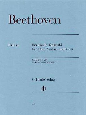 BEETHOVEN - Serenade Op.25 - Partition - di-arezzo.co.uk