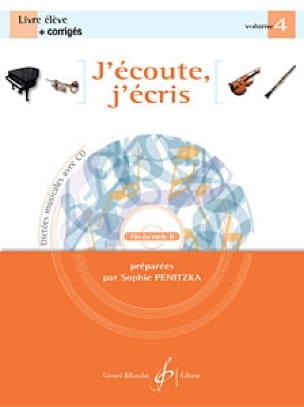 Sophie Penitzka - I'm listening, I'm writing Volume 4 - Partition - di-arezzo.co.uk