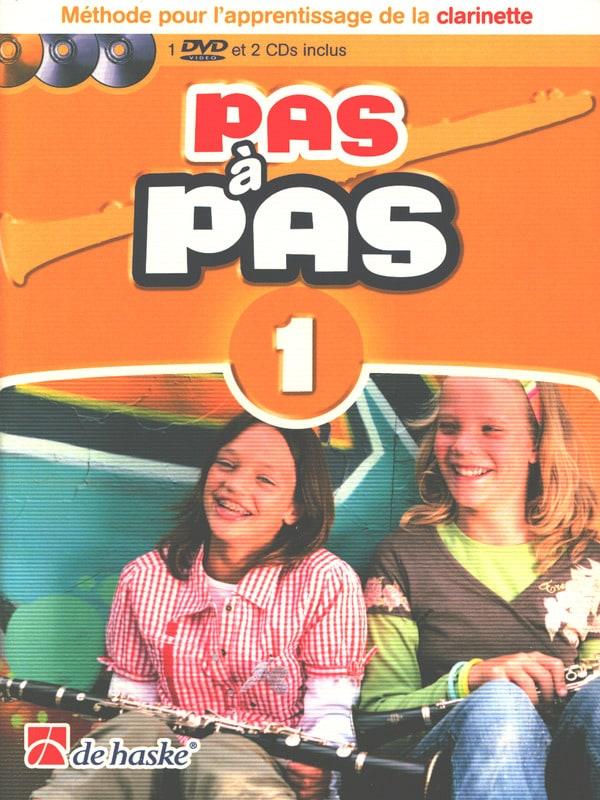 DE HASKE - Pas à Pas Clarinette Volume 1 - Partition - di-arezzo.fr