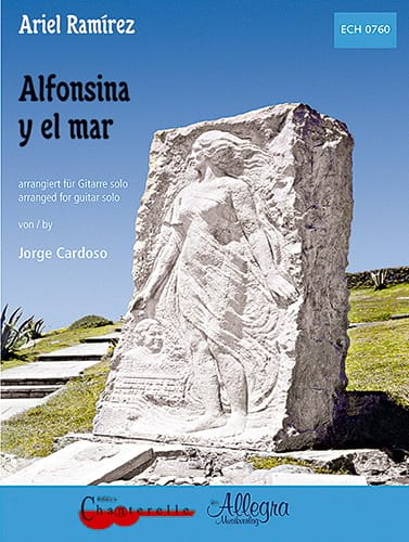 Alfonsina Y El Mar - Ariel Ramirez - Partition - laflutedepan.com