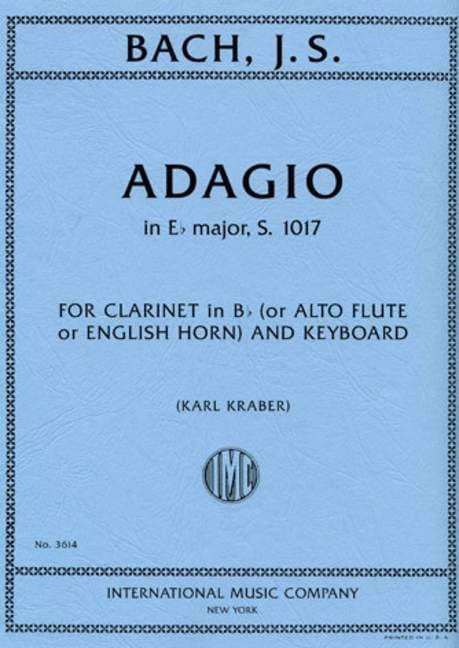 BACH - Adagio In Eb Shift. - S.1017 - Partition - di-arezzo.co.uk