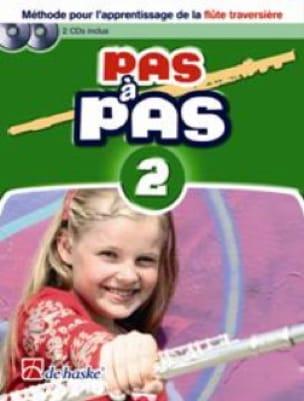 DE HASKE - Pas A Pas Vol.2 - Flûte traversière - Partition - di-arezzo.fr