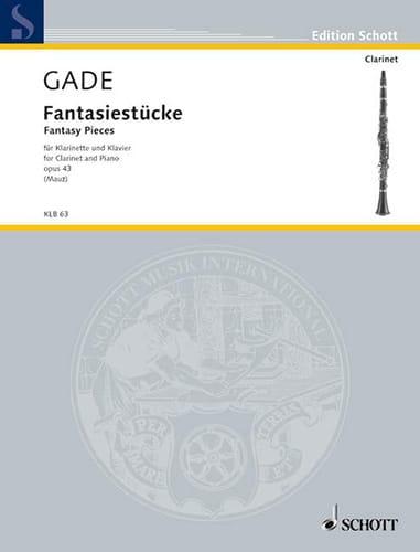 Niels Wilhelm Gade - Fantasiestücke Op.43 - Partition - di-arezzo.fr