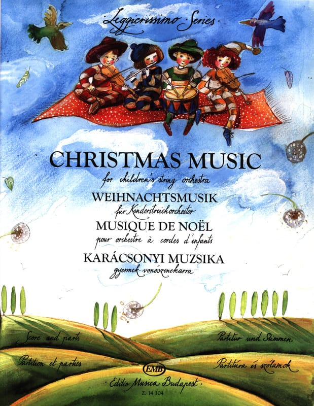- Christmas Music for Children String Orchestra - Score - Parts - Partition - di-arezzo.co.uk